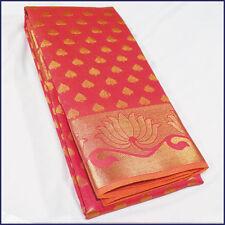 Pure Silk Cotton Saree Kerala Silk Cotton and Silk Designer Sari - KO033 Lotus
