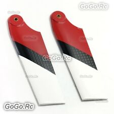 Tarot Carbon Fiber Tail Blade Red for T-rex Trex 600 Helicopter (TL60128-03)