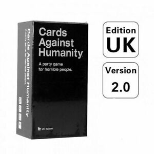 Card Against Humanity UK V2.0 Latest Edition 100% NEW Sealed 600 Card Free post