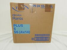 TENA Proskin Pants Plus S/Small  4 Packungen / 4x14 = 56 Stück (1 Karton)
