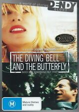 The Diving Bell And The Butterfly - True Story - Mathieu Amalric - NEW DVD