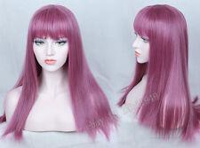 Descendants 2 Mal Cosplay Wig Purple Long Cosplay Halloween Costume Wig