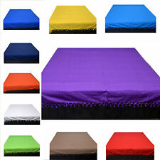 Einfarbige Waschmaschinengeeignete Bettüberwürfe & Tagesdecken