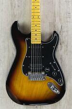 G&L Tribute Legacy HSS Electric Guitar, Maple Fingerboard - 3-Tone Sunburst