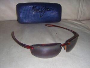Maui Jim MJ HOOKIPA 407-10 Tortoise 64 / 17 Sunglasses - JAPAN