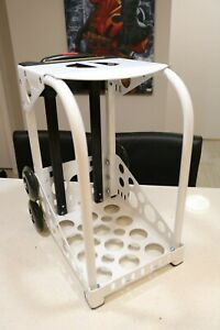 ZUCA Sport Frame with Built-in Seat and Flashing Wheels (White)