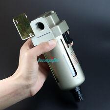 "1/2"" 4000L/M Air Compressor Line Auto Drain Filter Water Moisture Trap Separator"