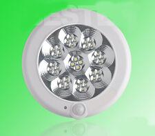 * 8W Diameter 22.5CM Indoor White LED Sensor Light Ceiling Fixture Lighting