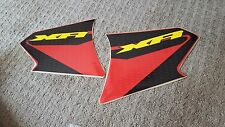 HONDA XR400 XR200 XR FUEL TANK DECALS STICKERS GAS TANK DECALS GRAPHICS CUSTOM