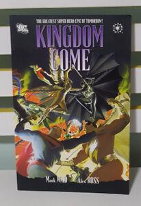 KINGDOM COME - THE GREATEST SUPER-HERO EPIC OF TOMORROW! DC COMIC BOOK!