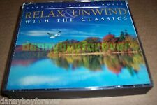 Reader's Digest 4 CD Relax & Unwind With Classics Chopin Haydn Schubert Mozart