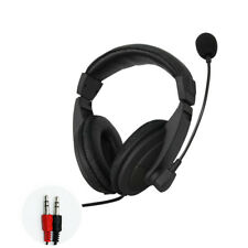 PC GAMING HEADPHONE WITH MIC FOR COMPUTER LAPTOP HEADSET MICROPHONE SKYPE