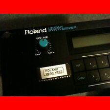Roland D550 firmware OS Upgrade: v 1.02