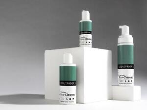 LIQUIPROOF LABS Eco Cleaner fights bad bacteria with good bacteria bags shoes
