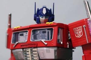 Transformers Optimus Prime with Metallic Autobot Logo