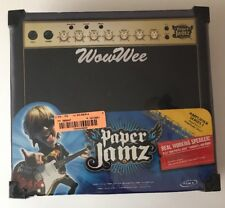 Paper Jamz Amplifier Speaker by WowWee Black With Vintage Knobs Brand New