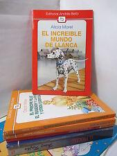 EL INCREIBLE MUNDO DE LLANCA Graded Spanish Literature Libros en Espanol