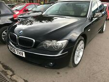 08 BMW 750LI 4.8 SPARES OR REPAIR, DRIVES BUT UNDERPOWERED, SOME PAINT REQUIRED