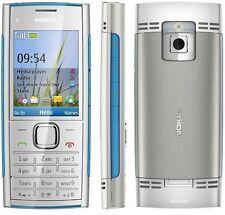 2017 ORIGINAL Nokia X2-00 Blue Silver X2 100% UNLOCKED Cellular Phone Warranty 9