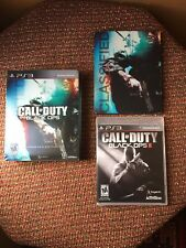 Call Of Duty Black Ops 1 Hardened Edition & Black Ops 2 Ps3 PlayStation 3 TESTED