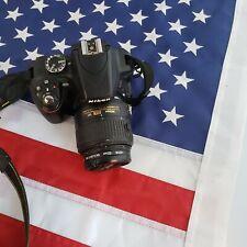 Nikon D D3300 24.2MP Digital SLR Camera - Black w/ 18-55mm  Lens