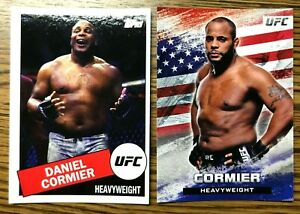 2020 Topps UFC trading cards of Daniel Cormier (UCFB-6)
