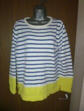 joules striped jumper size 14