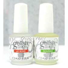 Gelish Harmony pH BOND Dehydrator Nail Prep + NOURISH Cuticle Oil 0.5oz 15ml