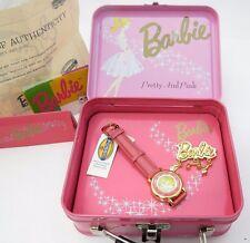 """BARBIE, Fossil,1994 Quartz,""""Original Box"""" COA, N-MINT! KIDS/LADIES WATCH,R15-07"""