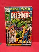 Marvel Feature #1 1971 Comic Origin 1st Defenders 1950s Sub-Mariner Dr Strange