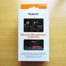 Official Roland binaural microphone / earphone CS-10EM (Condenser microphone)