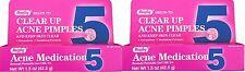 Benzoyl Peroxide 5 %  Generic for Oxy Balance Acne Medication Gel 1.5 oz 2 PACK