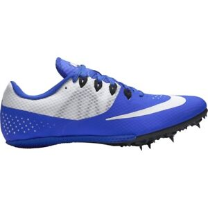 NEW NIKE ZOOM RIVAL S8 TRACK & FIELD CLEATS Mens 12 Blue White Shoes NWT