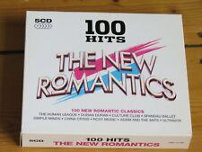 5 CD 100 Hits NEW ROMANTICS (80s/OMD/H2O/Wax/T'Pau/Japan/Duran/Limahl/Sly Fox)