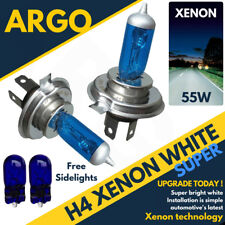 Ford Fiesta Mk6 02 On St H4 501 T10 Super White Xenon Headlight Bulbs 4500k