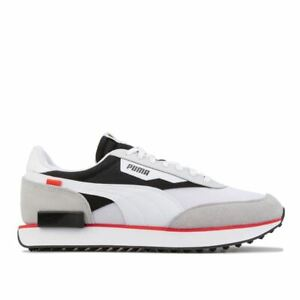 Men's Puma Future Rider Core Low top Cushioned Trainers in Grey