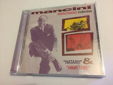HATARI / HIGH TIME (Henry Mancini) OOP 1960/1962 Score Soundtrack Score OST CD