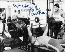 SUPERSTAR BILLY GRAHAM WWF WWE SIGNED AUTOGRAPH 8X10 PHOTO #2 W/ JSA COA