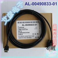 NEW For SANYO R/Q Series Servo PLC Programming Cable AL-00490833-01 #H941G YD