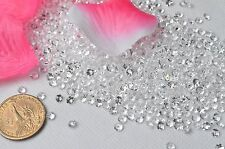 10,000pcs 4.5mm Acrylic Clear Beads Confetti Wedding Reception Table Decorations