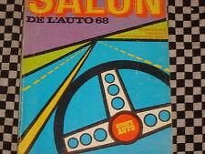 revue EUROPE AUTO 1968 SALON SPORT & TOURISME / NOMBREUSES PHOTOS