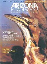 ARIZONA HIGHWAYS ~ October 1991 ~ Bird-Watching