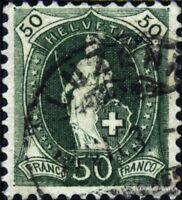 Schweiz 69 gestempelt 1899 stehende Helvetia