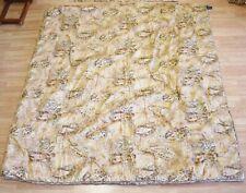 Ralph Lauren Verdonnet Camel Paisley King Comforter Bedspread & 2 Shams