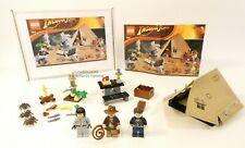 LEGO INDIANA JONES JUNGLE DUEL SET 7624 IRINA SPALKO 100% COMPLETE GUARANTEE