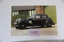 Page Jaguar 2.5 L DAIMLER Heritage Trust Oldtimer ORIG prospectus 5.1 1148 dl4