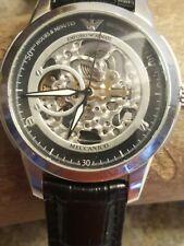 Emporio Armani Automatic Mens AR4625 Wrist Watch Working #42W