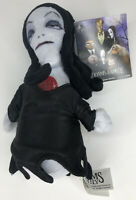 """The Addams Family Morticia Addams 6"""" Singing Squeezer Plush Theme Song New"""
