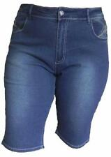 Cotton Mid-Rise Capri, Cropped Jeans for Women