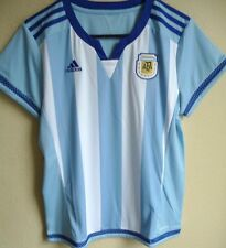 Women's Adidas Argentina 2015 World Cup Home Soccer Jersey L NEW